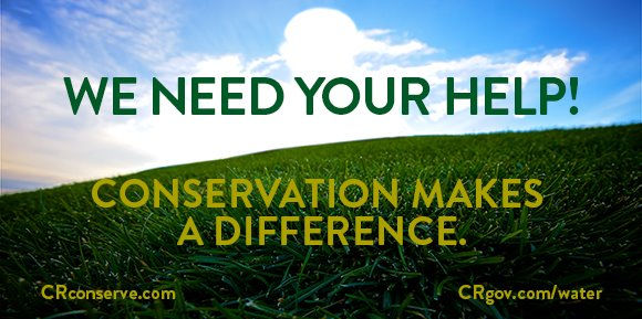 Conservation makes a difference!