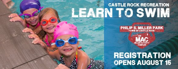 Learn to Swim: Registration Opens Aug 15