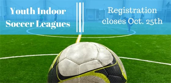 Youth Indoor Soccer Leagues now registering!
