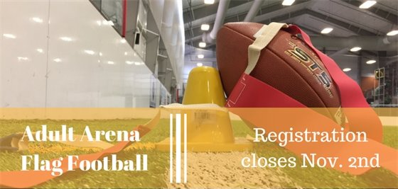 Registration now open for Adult Arena Flag Football