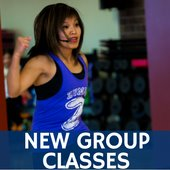 New group fitness classes!