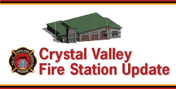 Banner image with rendering of fire station