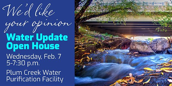 Water Update Open House
