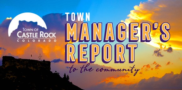 Town Manager's Report header