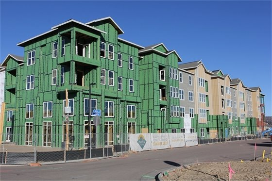 Photo of Talus Flats Mixed Use Project.