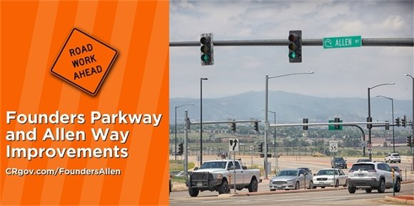 Founders Parkway and Allen Way Improvements