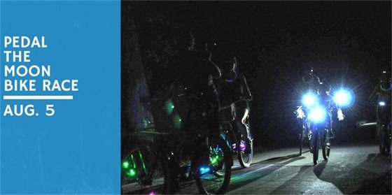 PEDAL THE MOON ANNUAL BIKE RIDE UNDER THE STARS