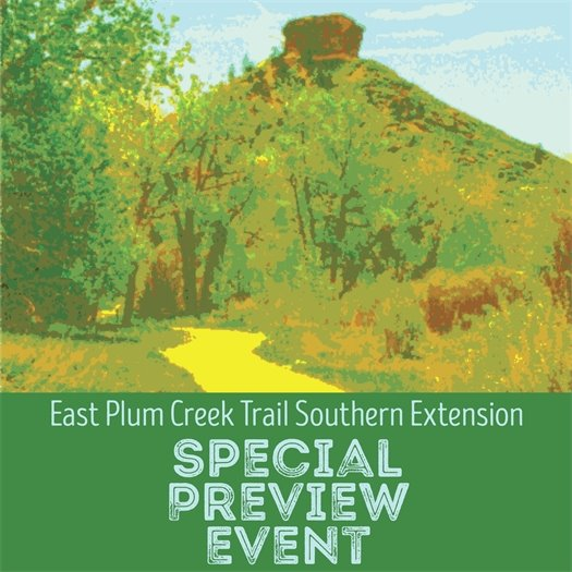 East Plum Creek Trail Extension Special Preview Event