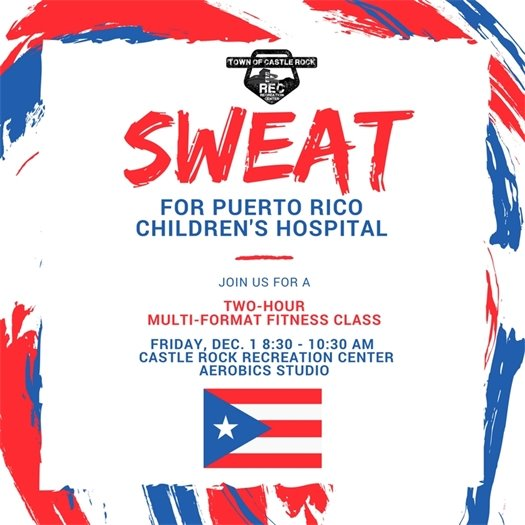 Sweat for Puerto Rico Children's Hospital