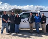 Meter  Services Team with Town of Castle Rock utility truck