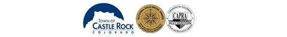 Logos of Castle Rock, National Gold Medal Award and CAPRA