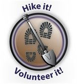 Hike it! Volunteer it! graphic