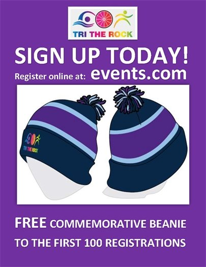 Sign up today and get a free beanie