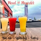 Mead and Meander bike ride, sightseeing and tasting