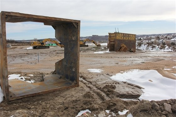 Photo of Meadows Filing 16 Parcels 6 & 7 - project under construction.