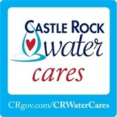 Castle Rock Water cares logo