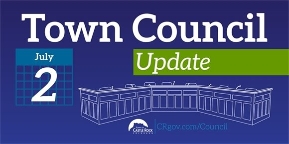 Town Council Update graphic