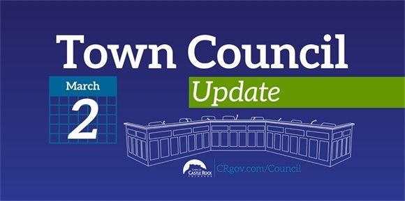 Town Council Update March 2