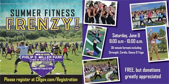 Summer Fitness Frenzy graphic