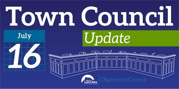 Town Council Update July 16
