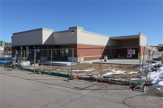 USPS retail facility project site.