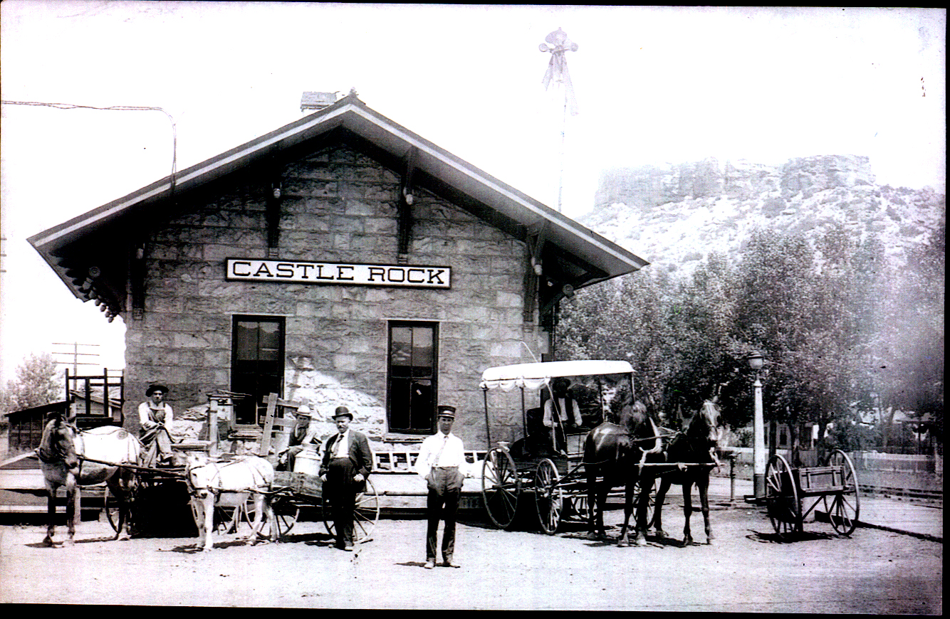 Castle Rock Train Depot