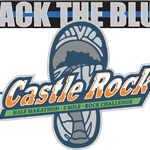 Back the Blue Castle Rock Half Marathon combined logo