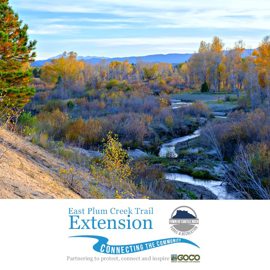 EPCT  fall photo of creek with project logo at the bottom.