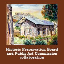 Historic Preservation Board and Public Art Commission collaboration