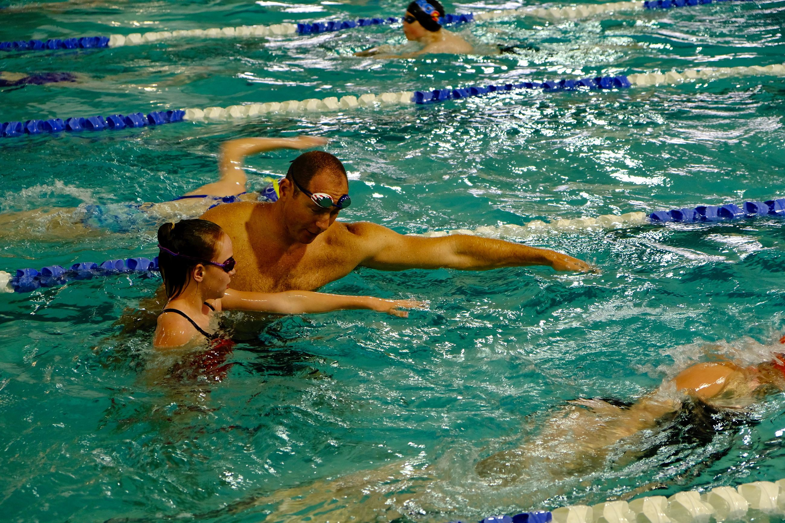 Jason Lezak swim clinic