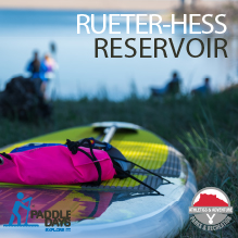 Rueter-Hess is open for Paddle Days beginning Memorial Day Weekend