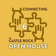 District 6 Open House graphic