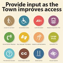 Provide input as the Town provides access