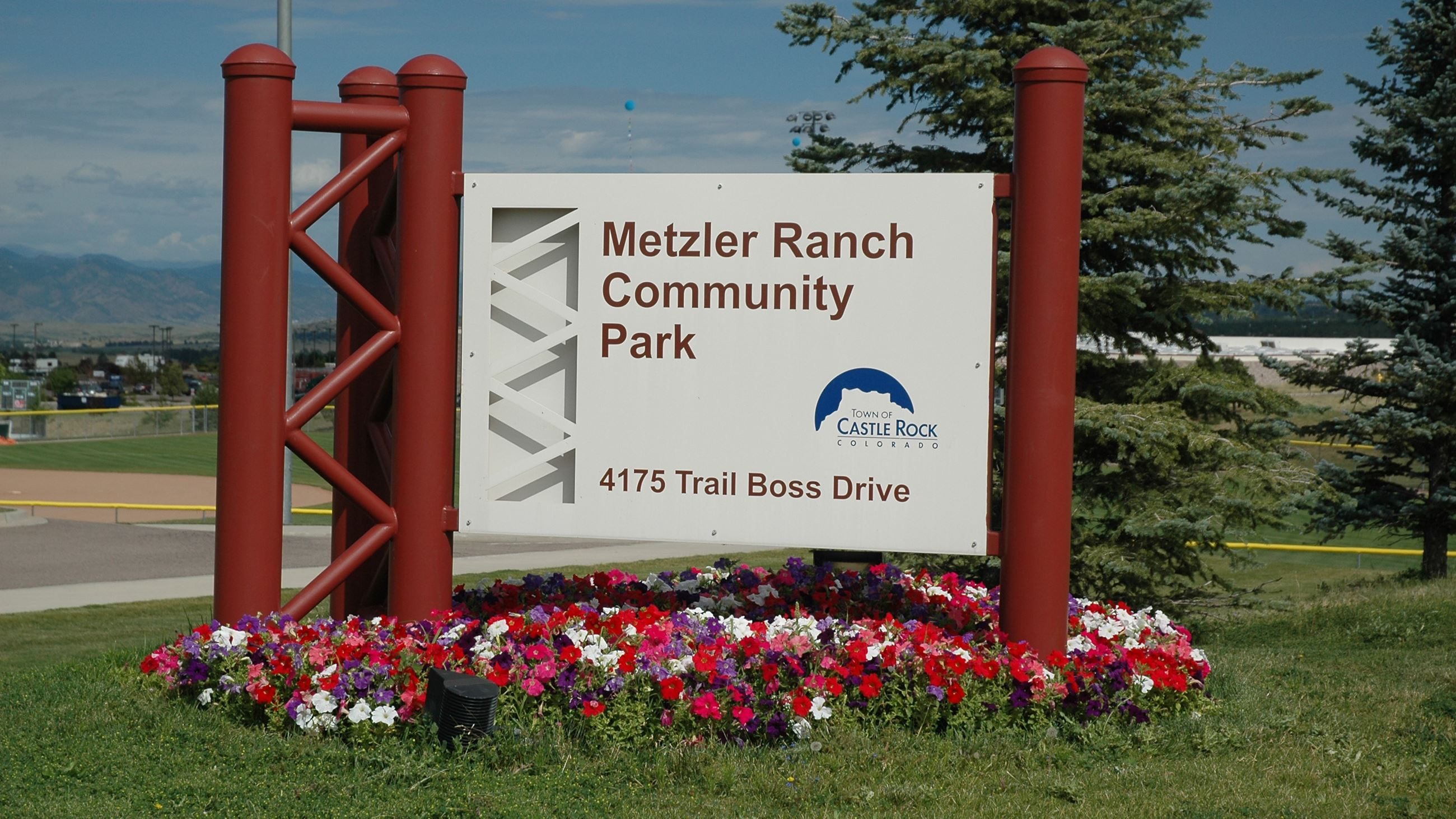 Metzler Entrance Sign