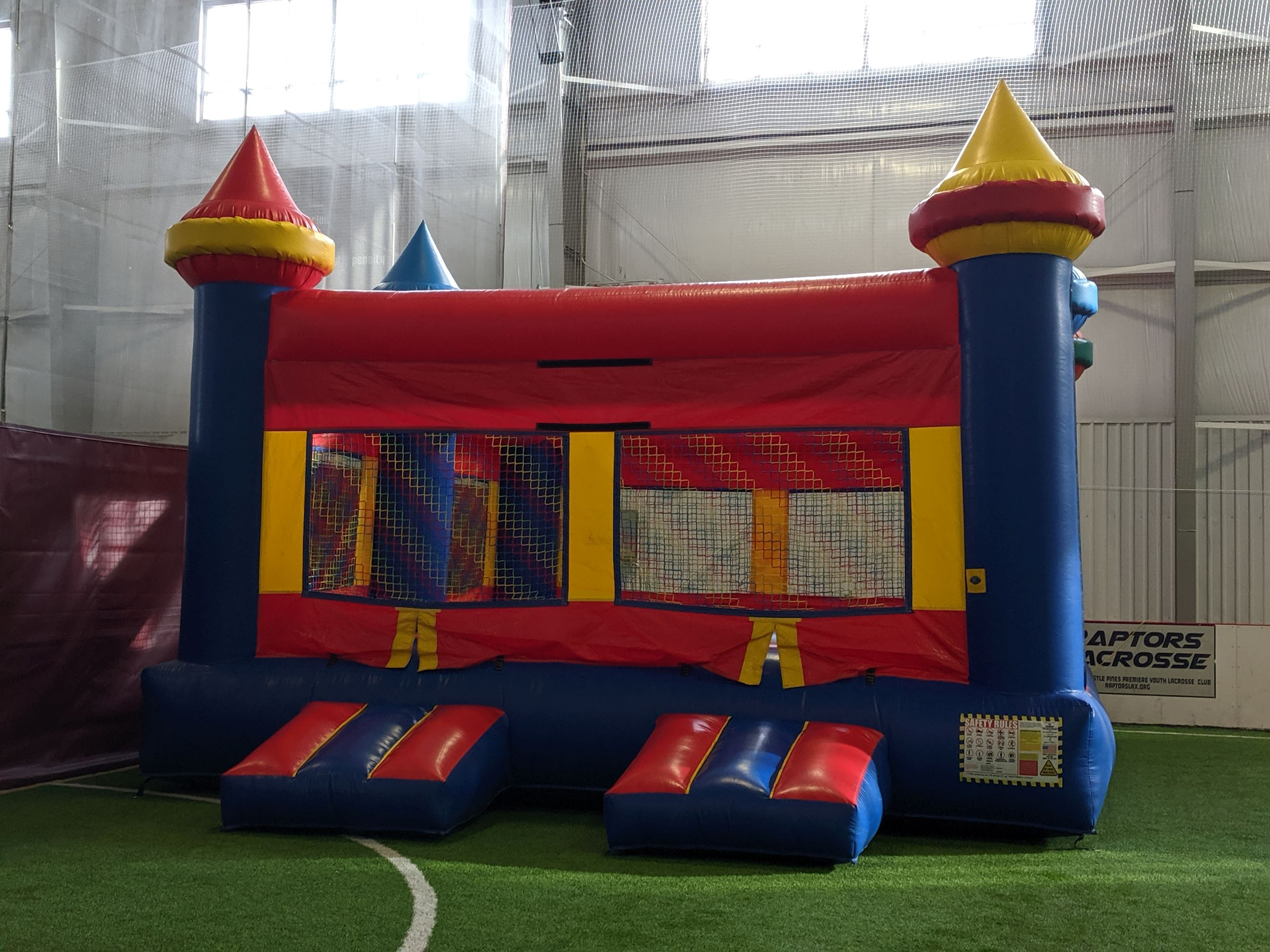 Bouncy Castle at the MAC