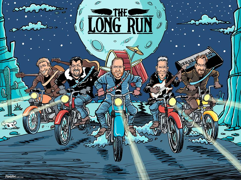 The Long Run Band Illustrated by Drew Litton