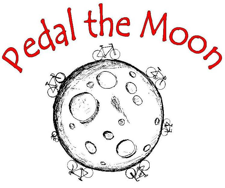 Pedal the Moon logo