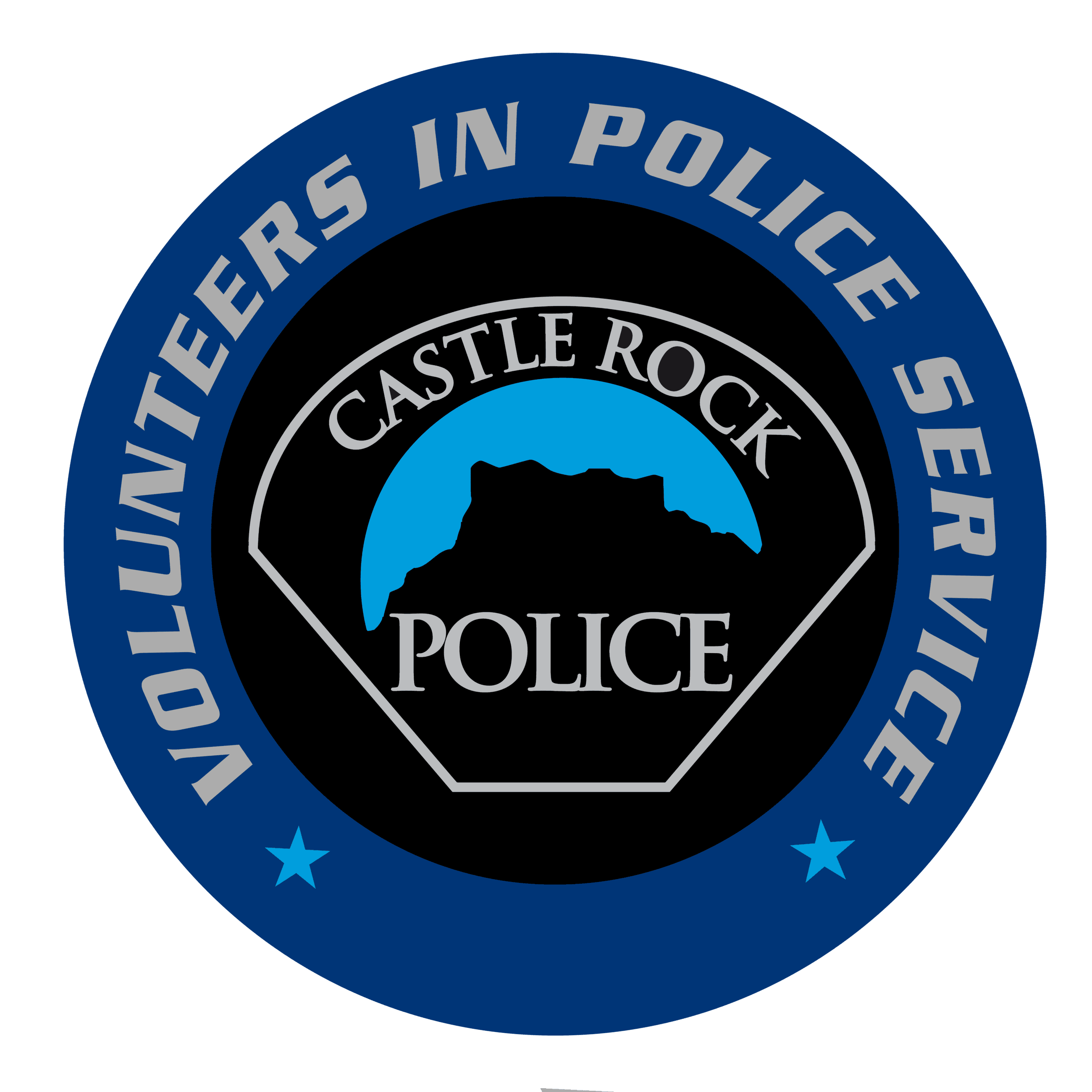 Castle Rock Police Patch