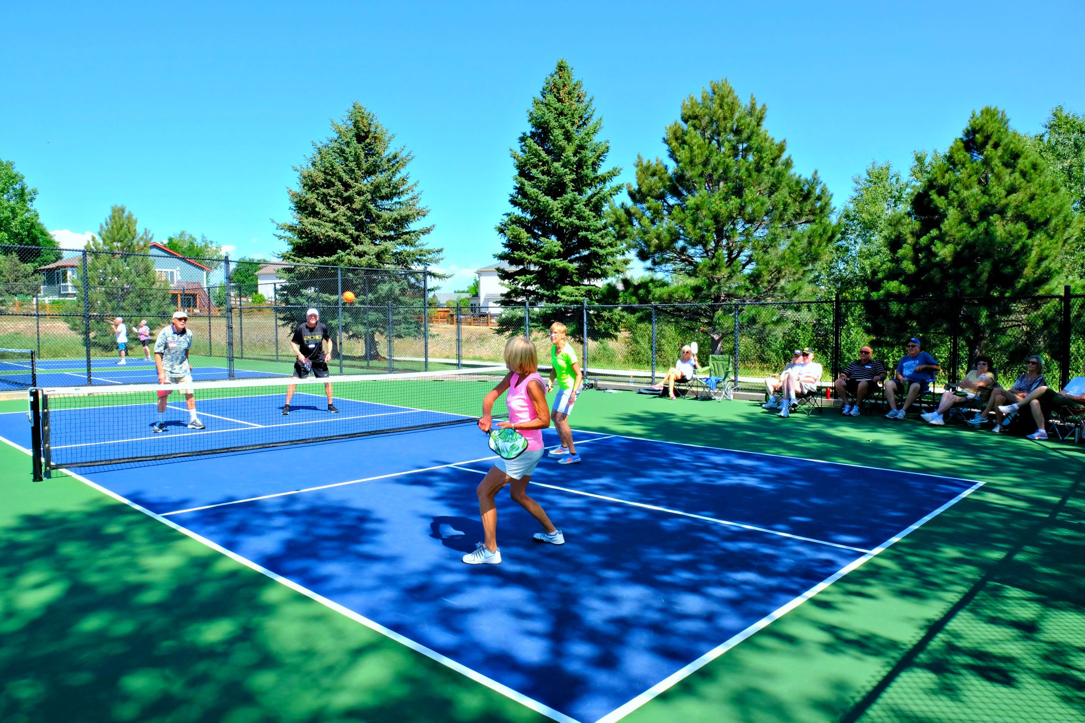 Pickleball  courts at Founders Park