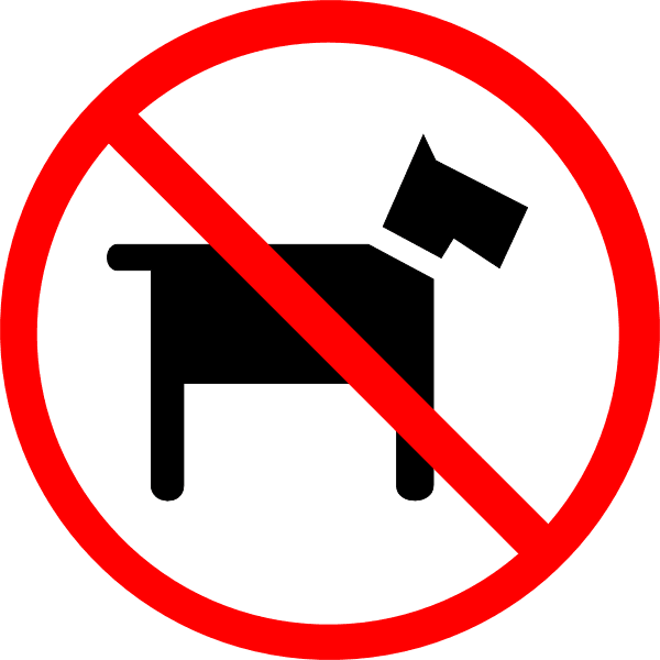 No-dogs-allowed-sign