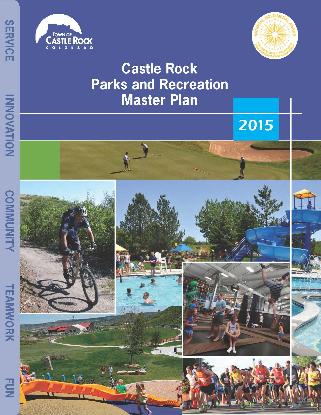 Cover page_Parks and Recreation Master Plan 2015