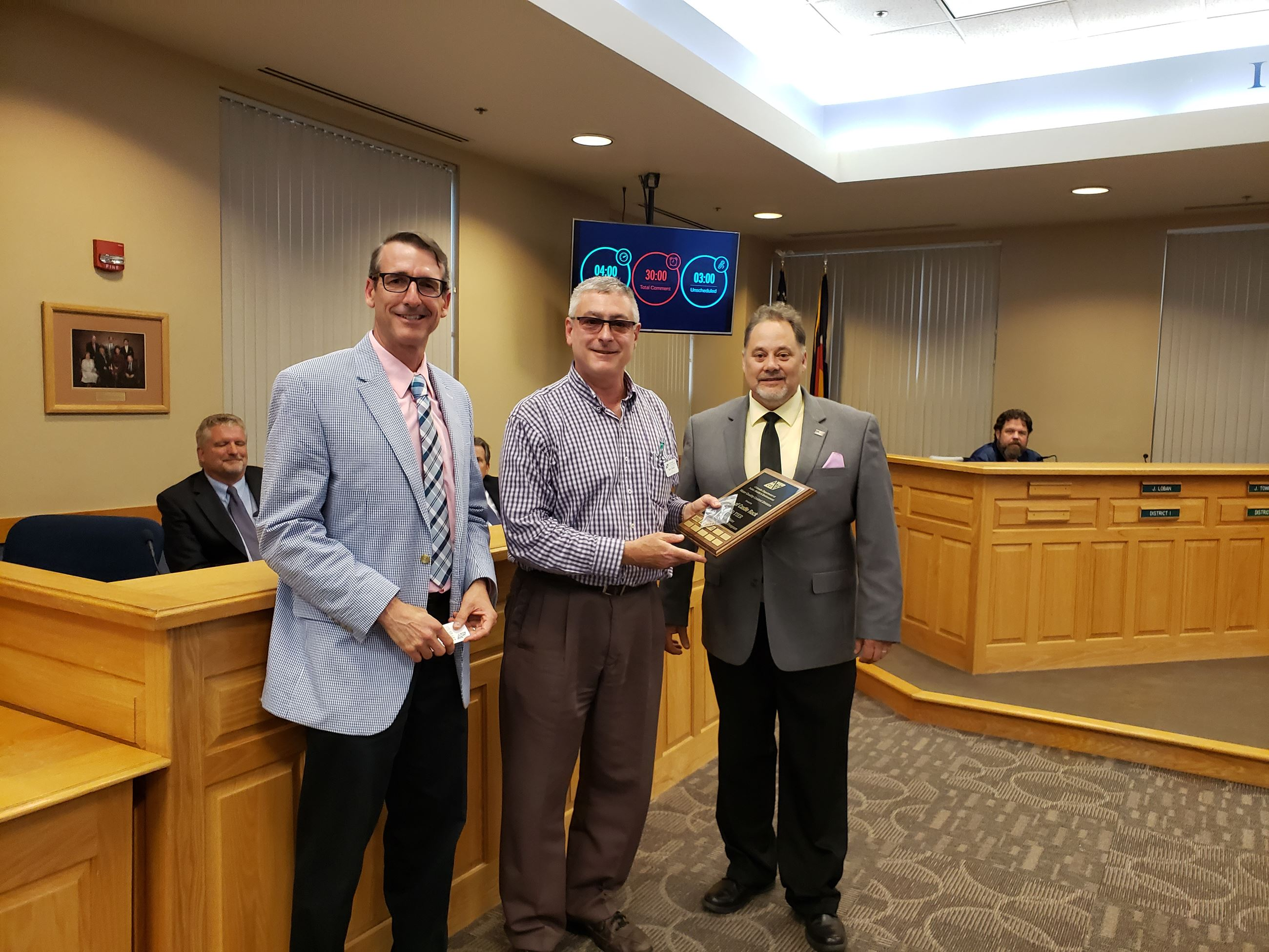 20190618_182552Castle Rock Water Department presented with awarded the Gold Tier in the Pursuing Exc