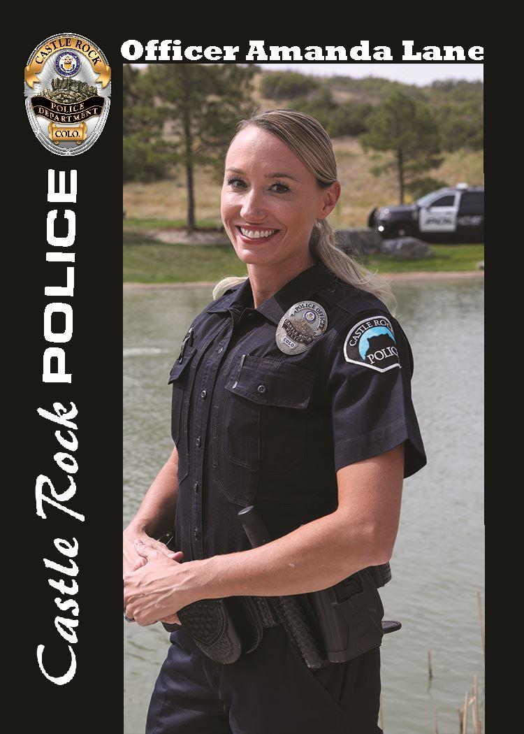 Officer Lane-collector card