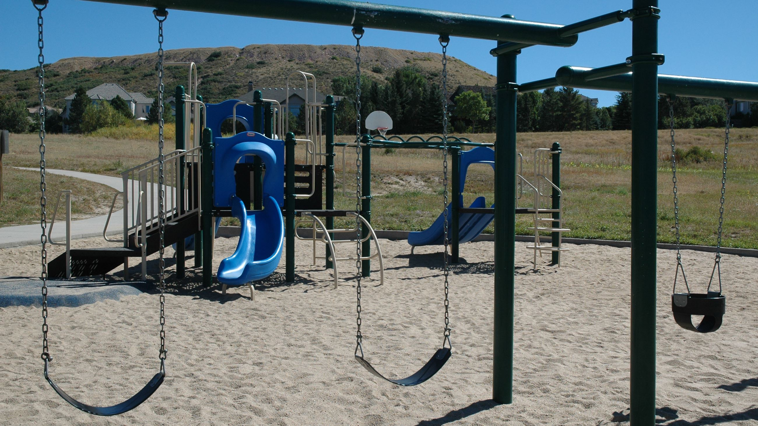 Swings at Plum Creek Park