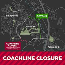 Coachline Road Closures