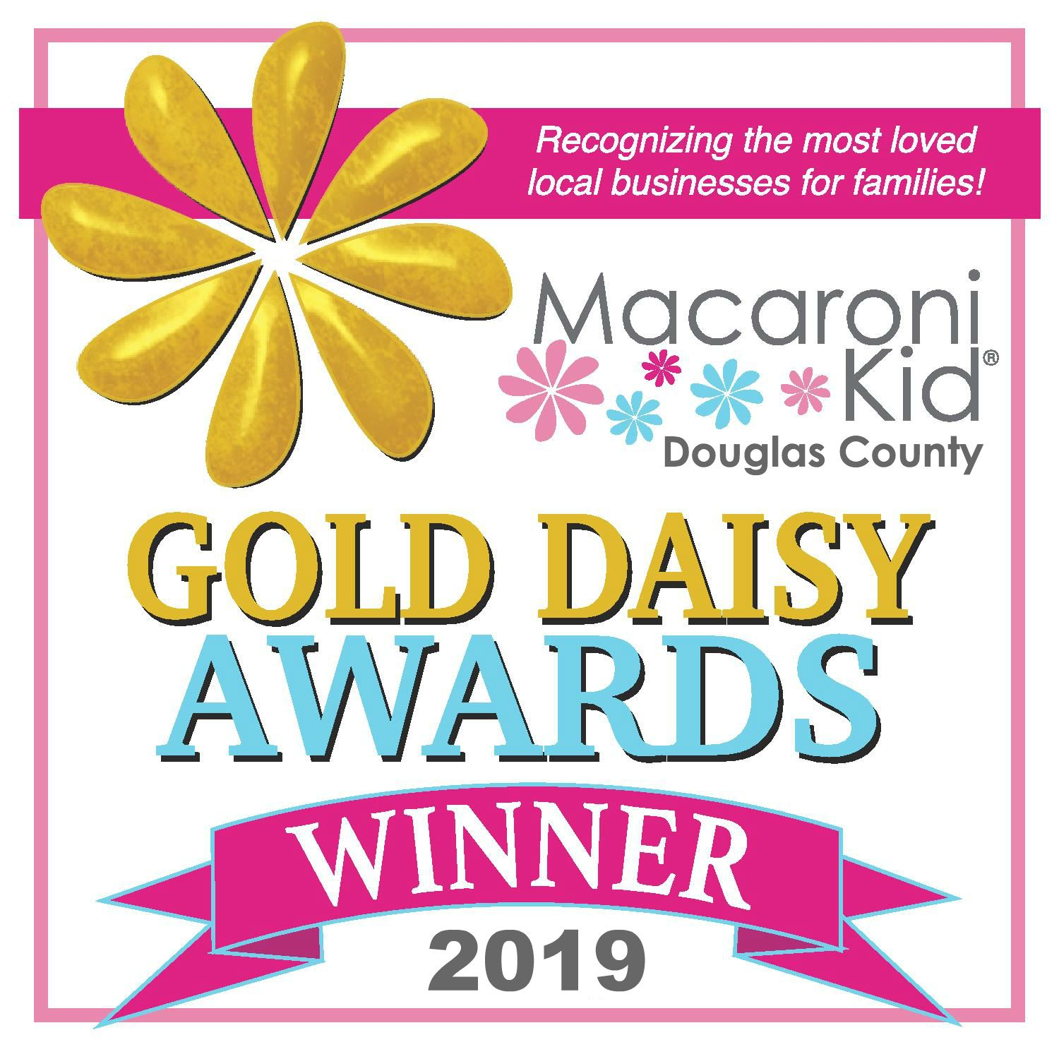 Gold Daisy Award Winner graphic 5x5